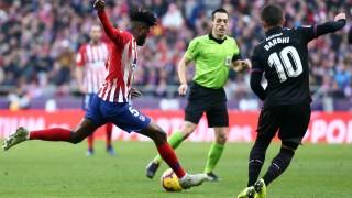 Гол от дузпа донесе трите точки за Атлетико срещу Леванте