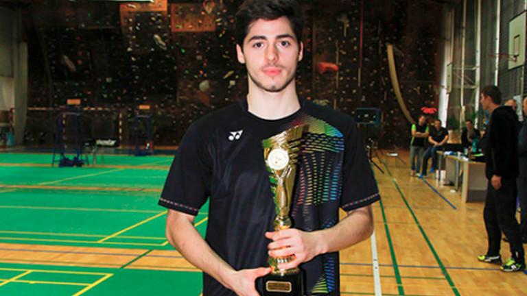 """Даниел Николов е """"Спортист на годината"""" на Хасково"""