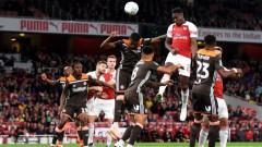 Арсенал победи Брентфорд с 3:1 в мач за Купата на Лигата