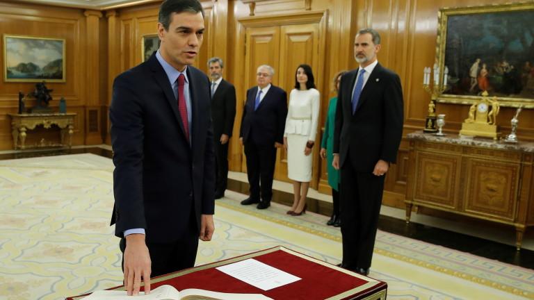 Педро Санчес положи клетва като премиер на Испания