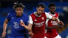 """Челси загуби лондонското дерби срещу Арсенал на """"Стамфорд Бридж"""""""