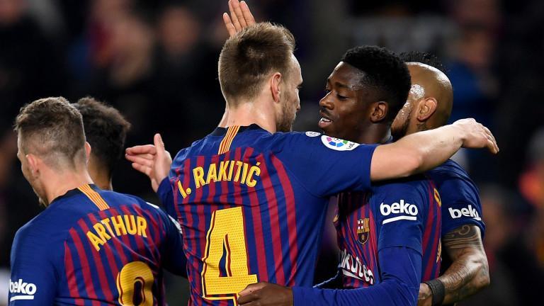 Барселона 3 : 0 Леванте 53′ ГОООЛ ЗА БАРСЕЛОНА!! 3:0!!