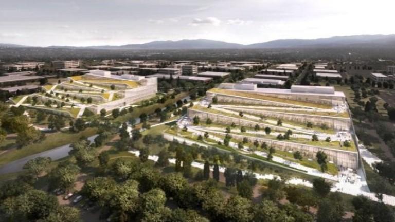 Огромният супермодерен кампус, който смята да построи Google