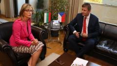 Чехия подкрепя усилията ни за интеграцията на Западните Балкани