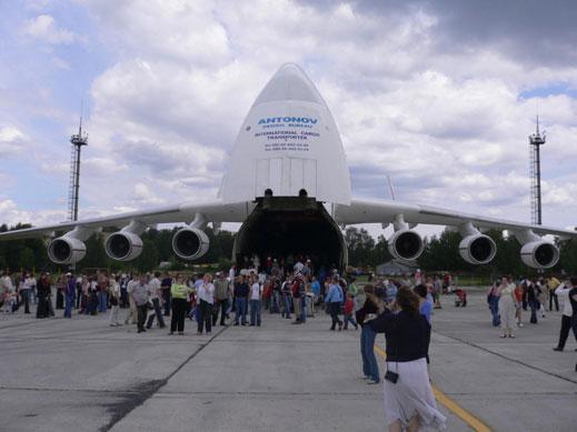 Най-големият самолет в света канселира полета си до Летище-Бургас