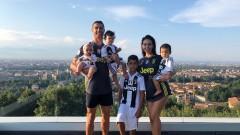 Коледа с кауза в дома на Роналдо в Торино
