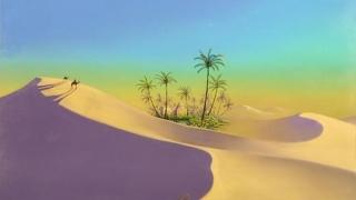 Зелен град разцъфва в пустинята