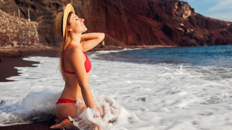 Най-цветните плажове на света