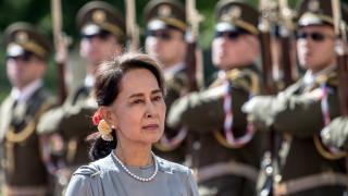 Мианмар за първи път от месеци показа кадри с Аун Сан Су Чжи