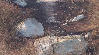 Студът забавя укрепването на свлачището в Провадия