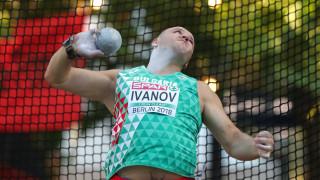 Георги Иванов с 13-а титла в тласкането на гюле в зала