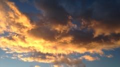 Облаци скриват слънцето в петък