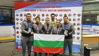 Първи медали за България от Световното по борба за глухи в Русия