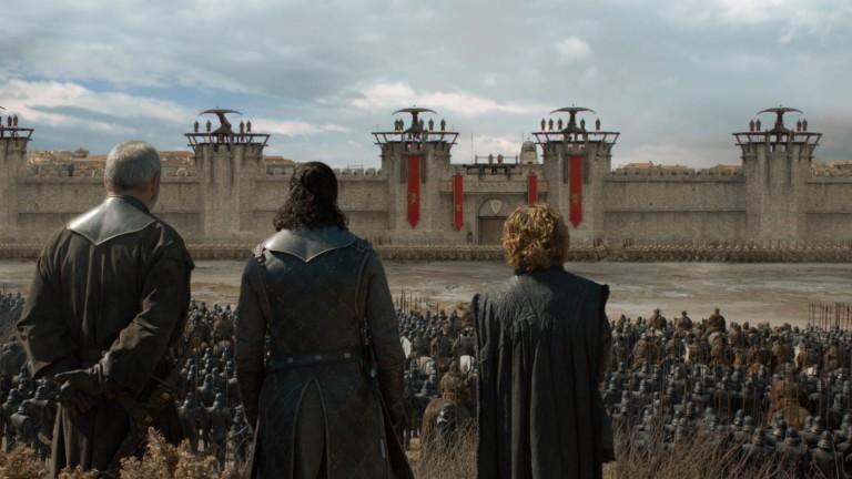 Как е направен последният сезон на Game of Thrones