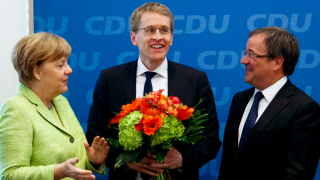 Партията на Меркел няма да прави голяма коалиция след победата в Шлезвиг-Холщайн