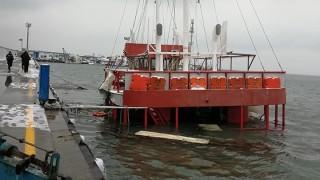Вълнението потопи кораб в Поморие