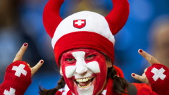 Феновете на Швейцария организират шествие преди мача с Коста Рика