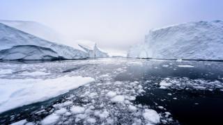 Рекордно малко количество лед в Арктика за октомври