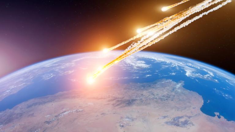 САЩ оповестиха голяма експлозия на метеор над Берингово море