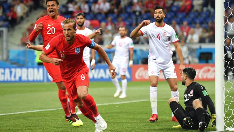 Капитанът на националния отбор на Англия Хари Кейн се превърна