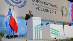 Радев иска да се запазят работните места и социалният аспект в борбата за климата
