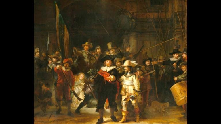 На живо: реставрация на картина на Рембранд