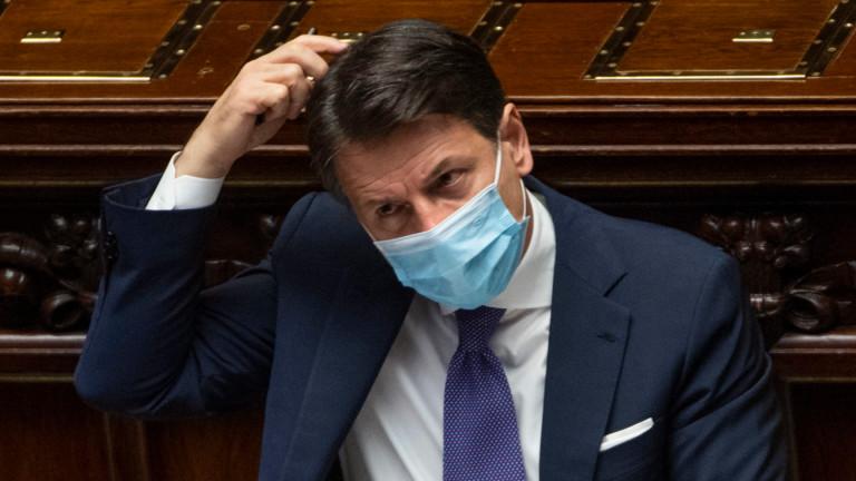 Италия пак налага блокади на области и вечерен час заради COVID-19