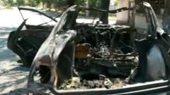 Трима души пострадаха при катастрофа и взрив на газова бутилка