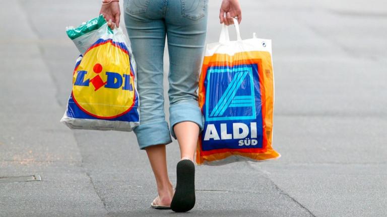 Германските дискаунтъри Aldi и Lidl продължават уверения си поход и