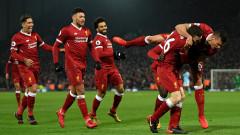 """Ливърпул показа как се прави, """"мърсисайдци"""" сразиха непобедения Сити в голово шоу"""