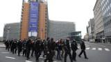 """70 души задържани при протестите на """"жълтите жилетки"""" в Белгия"""