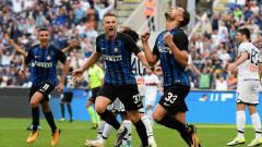 "Драма на ""Джузепе Меаца"" - Интер повали Дженоа с гол в края"