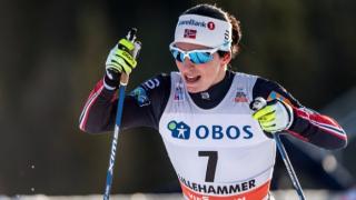 Победоносно завръщане за Марит Бьорген