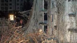 Лош бетон - сред причините за рухналия строеж на бул. България?