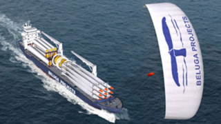 В Япония построиха кораб с хвърчило