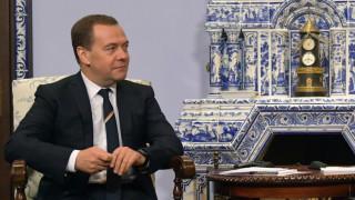 Руският премиер Медведев отмени съветските закони