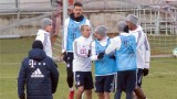 Хамес Родригес и Себастиан Руди се сбиха на тренировка