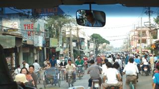 Виетнамка се самозапали в знак на протест