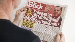 В Швейцария разследват лозунг, призоваващ Ердоган да бъде убит