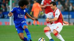 Лестър прекъсна черната серия срещу Арсенал (ВИДЕО)