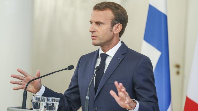 Макрон недоволен от придобиването на Ф-35 от Белгия, било против интересите на ЕС