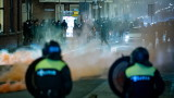 Протестите в Нидерландия срещу локдауна продължават