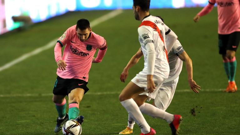 Барселона намери място сред четвъртфиналистите за Купата на Краля. Каталунците
