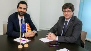 Мадрид се опита да блокира среща между Пучдемон и лидера на каталунския парламент в Брюксел