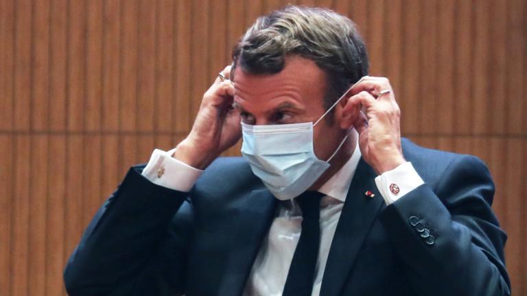 Френското правителствопризова всички компании да имат маски за поне 10