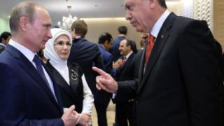 Ердоган предупредил Путин за нова бежанска вълна от Алепо