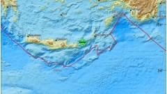 Земетресение от 4,8 по Рихтер разтърси остров в Гърция