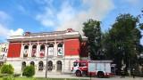 Банов прави оглед на щетите след пожара в операта в Русе