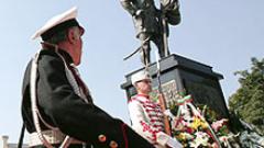 Откриха паметник на българските опълченци