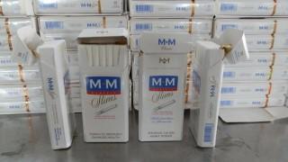 Откриха близо 1400 кутии незаконни цигари в тайник на кола